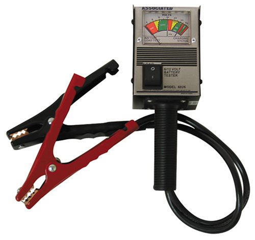 Associated Battery Tester : Associated equipment atec v amp hand held