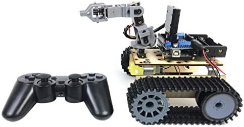 Vivianu PS2 Remote Control Robot Track Four Degree of Freedom Detection Vehicle Chassis Assembled DIY Kit
