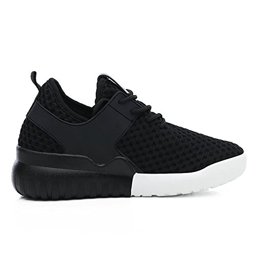 Women Mesh Sneakers Outdoor Athletic Running Shoes Casual Sport Shoes(Black 39/8.5 B(M) US Women) (Driving Brillen)