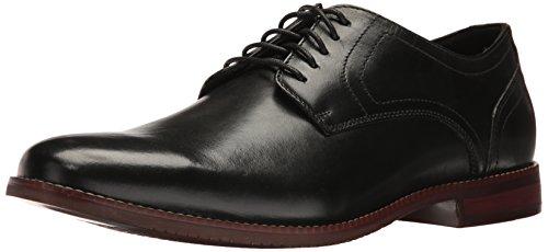 Rockport Mens Style But Plaine Toe Oxford Cuir Noir