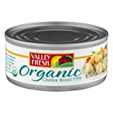 Organic Chunk Chicken Breast In Water 5 oz - Pack of 6