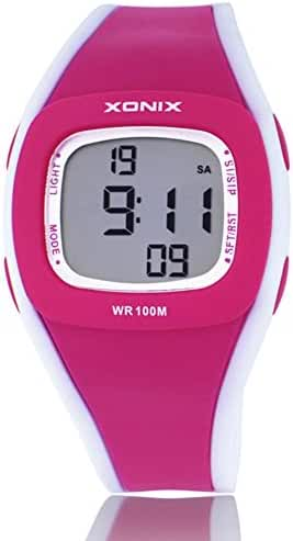 Sleek, minimalist waterproof electronics for girls and boys Watch-C