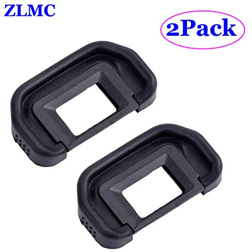 ZLMC EB Eyepiece Eyecup, Replacement for Canon EOS 5D Mark II / 5D / 6D / 70D / 60D / 60Da / 50D / 40D DSLR Camera Viewfinder blinkers Eye Cup