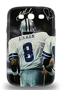 Fashionable Galaxy S3 Case Cover For NFL Dallas Cowboys Troy Aikman #8 Protective Case ( Custom Picture iPhone 6, iPhone 6 PLUS, iPhone 5, iPhone 5S, iPhone 5C, iPhone 4, iPhone 4S,Galaxy S6,Galaxy S5,Galaxy S4,Galaxy S3,Note 3,iPad Mini-Mini 2,iPad Air )