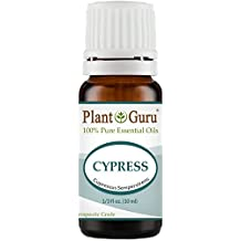 Cypress Essential Oil 10 ml. 100% Pure Undiluted Therapeutic Grade.