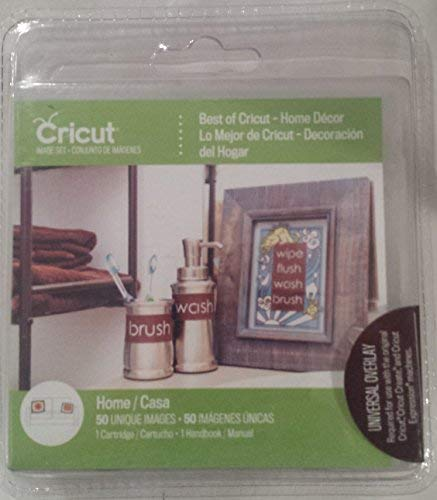 Cricut Cartridge, Best of Cricut - Home Décor