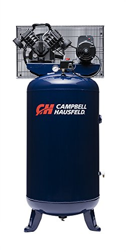 Air Compressor, 80 Gallon, Vertical Compressor, Single-Stage, 16CFM, 5HP, 1PH (Campbell Hausfeld TQ3104) by Campbell Hausfeld