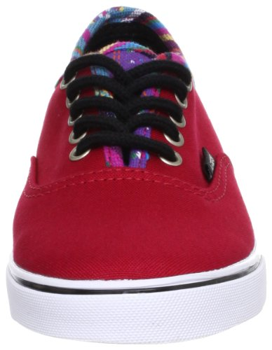 Vans Authentic Lo Pro Stripe Binding Chili Pepper Chili Pepper