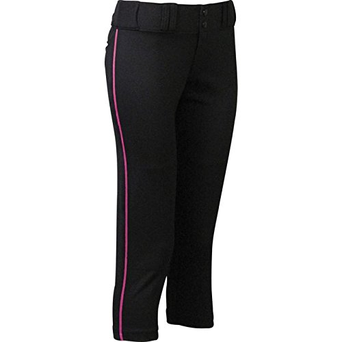 Easton Womens Pro Pipepant, Black/Pink, Medium
