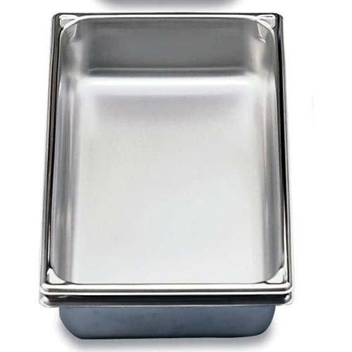 - Super Pan 3 Half-Long Size S/S Steam Table Pan, 6 Qt