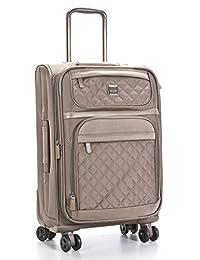 Calvin Klein Hawthorne 28-Inch Upright Suitcase, Truffle, One Size