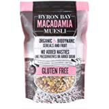 Byron Bay Organic Fruit and Nut Macadamia Muesli, 350 g