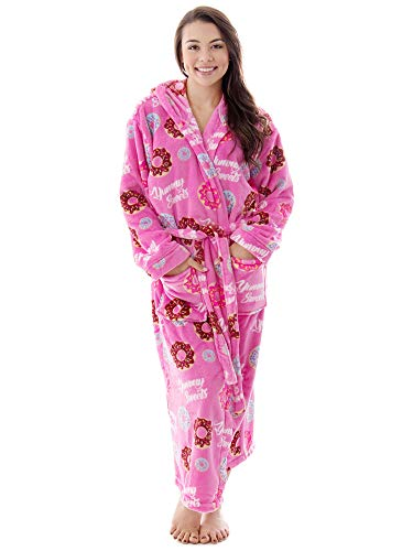 Super Lightweight Soft Kimono Robe Velour Texture Bath Robes for Women,Pink