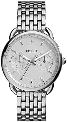 Fossil Women's ES3712 Tailor Silver-Tone Stainless Steel Watch