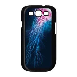 Samsung Galaxy S3 9300 Phone Case Covers Black jellyfish storm JFA DIY Custom Cell Phone Case