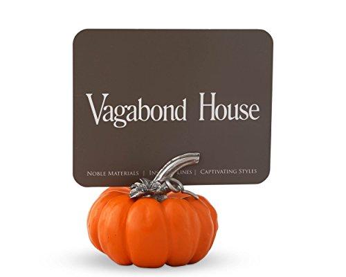 Vagabond House Renin Pumpkin Place Card Holder / Cheese Markers 2