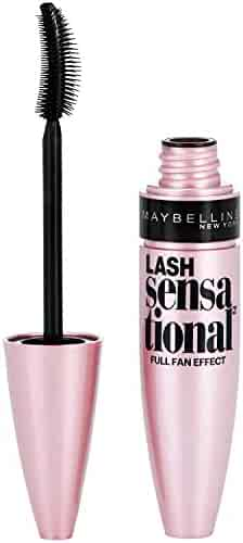 Maybelline Lash Sensational Washable Mascara, Blackest Black, 0.32 fl. oz.