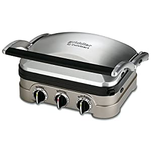 Cuisinart Griddler Gourmet, Easy to use and clean