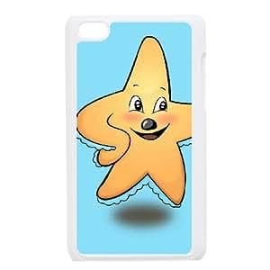 DIYCASESTORE Beautiful Ipod Touch 4 Phone Case Starfish design,Bumper Plastic Customized Case WE488590