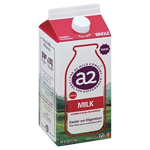 A2 MILK WHOLE 59 OZ PACK OF 2 -  PU59