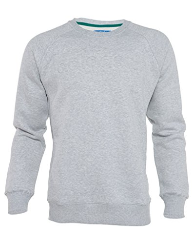 Adidas Crew Neck Sweatshirt (Adidas Premium Fleece Crew Neck Sweatshirt Mens Style : M30840)
