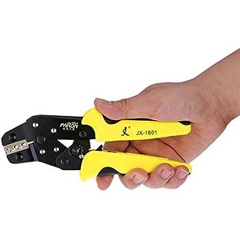 Paron JX-D4 Cable Wire Terminal Crimper Ratcheting Crimping Plier Tool