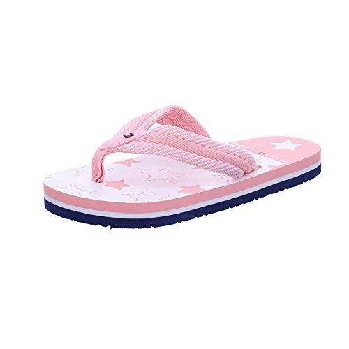 Tommy Hilfiger T3X0-00137-0058X Pink Textile Junior Flip Flops Rose