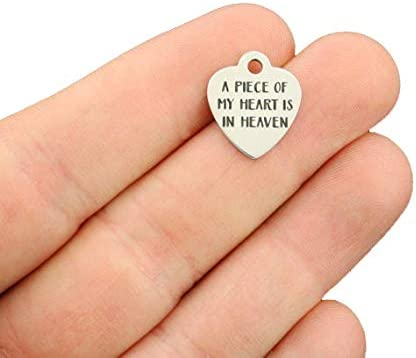 Memorial Stainless Steel Charms BFS3176 You left a memory no one can steal