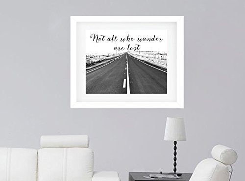 ... Rustic Wanderlust Wall Art, Country Road Art Print, Black And White  Photography Print, Rustic