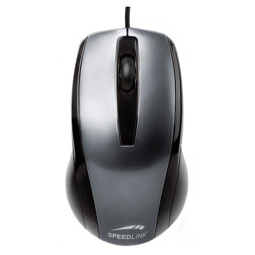 Speedlink Relic 3-Tasten-Maus (für Rechts- und Linkshänder, 1000dpi, USB)