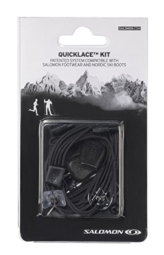 Salomon Men's X Ultra 2 Hiking Shoes Fjord / Black / Ray 11 and Black QuicklaceBundle