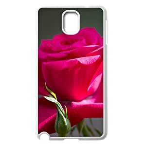 {Funny Series} Samsung Galaxy Note 3 Case Red Rose 8, Printed Case Okaycosama - White