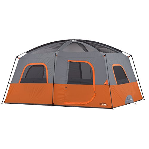 Core 10 Person Straight Wall Cabin Tent 14 X 10 The