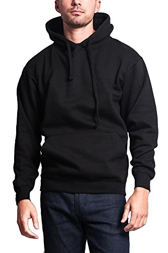 G-Style USA Premium Heavyweight Pullover Hoodie MH13101 - BLACK - 2X-Large - - Usa G Style
