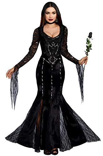 Dreamgirl Women's Frightfully Beautiful, Black, L for $<!--$52.82-->