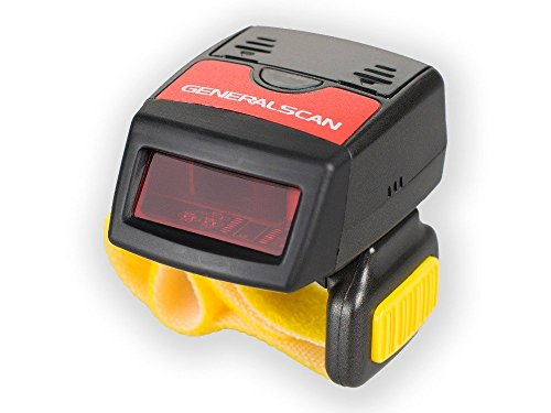 Generalscan GS R1000BT 1D Mini Wearable Ring Bluetooth Barcode Scanner Wireless
