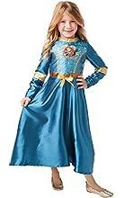 Rubies - Disfraz de princesa Disney con lentejuelas, talla pequeña, para niños de 7 a 8 años, altura 128 cm