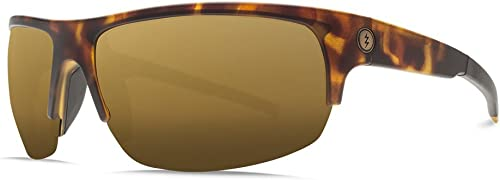 Electric Visual Tech One Pro Matte Tortoise OHM Polarized Bronze Sunglasses