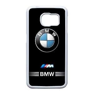 BMW Caja del teléfono celular O2W3Nv Funda Samsung Galaxy S6 Edge funda blanca S8T3WD móviles fundas caja del teléfono y cubre