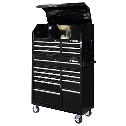 41 in. 16-Drawer Tool Chest and Cabinet Set