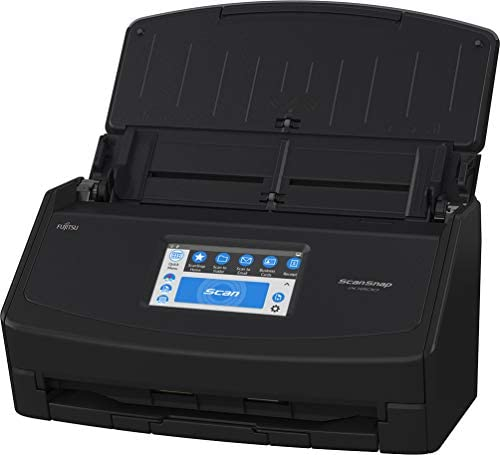 Fujitsu ScanSnap iX1600 Versatile Cloud Enabled Document Scanner for Mac and PC, Black