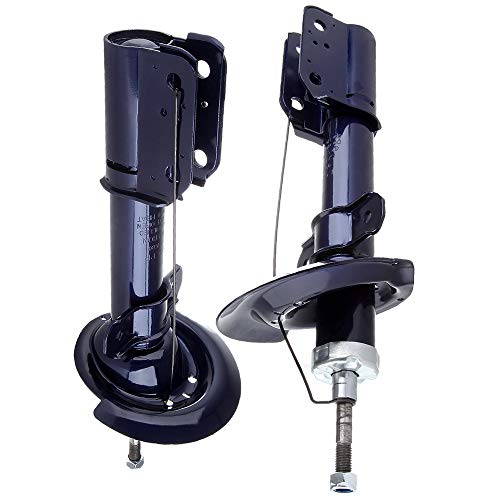 Shocks and Struts,ECCPP Rear Pair Shock Absorbers Strut Kits Compatible with 2004-2008 Pontiac Grand Prix,1997-2005 Buick Century,2000-2005 Chevy Monte Carlo Compatible with 334228 - Buick Regal Absorber Shock