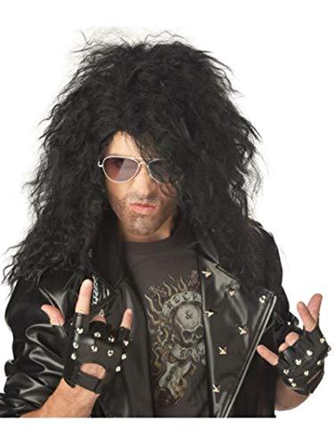 California Costumes Men's Heavy Metal Rocker Wig,Black,One ()
