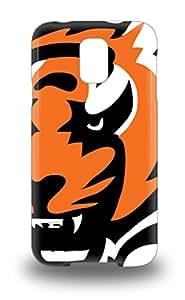 Galaxy Snap On Hard 3D PC Case Cover NFL Cincinnati Bengals Logo Protector For Galaxy S5 ( Custom Picture iPhone 6, iPhone 6 PLUS, iPhone 5, iPhone 5S, iPhone 5C, iPhone 4, iPhone 4S,Galaxy S6,Galaxy S5,Galaxy S4,Galaxy S3,Note 3,iPad Mini-Mini 2,iPad Air )