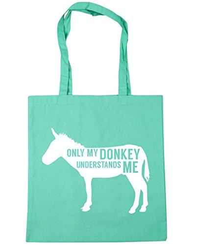 10 42 Verde Menta Bolsa My Entiende Donkey Playa Me X38 De nbsp;cm Compras nbsp;litros Hippowarehouse nbsp;cm Tote Solo vqgawn6