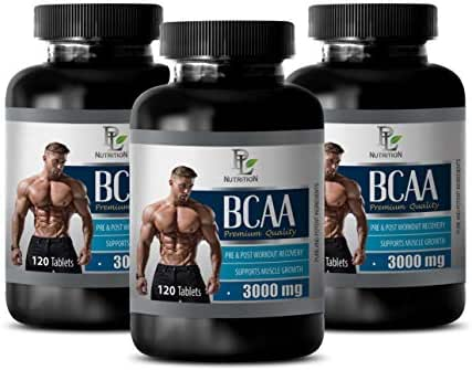 pre Workout for Weight Loss - BCAA 3000 MG PRE & Post Workout Recovery - Premium Quality - Amino acids bcaa Pills - 3 Bottles 360 Tablets