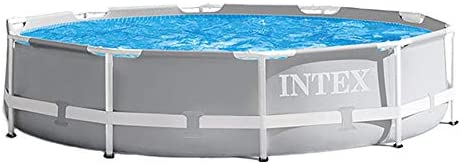 Intex 10 x 30 Above Ground Swimming Pool w 330 GPH Filter Pump Pool Ladder