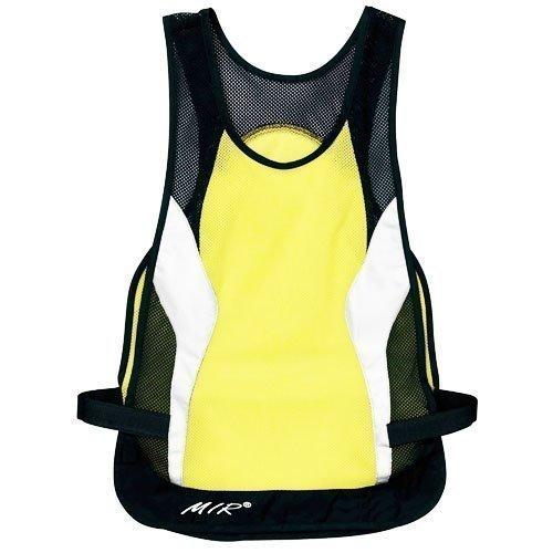 Mir Reflective Safety Vest Biking Running Medium//Large nlvest Jogging Air Flow Netting for Both Men and Women