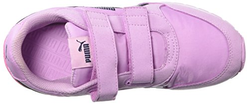 PUMA Unisex-Kids ST Runner NL Velcro Sneaker, Orchid-Peacoat, 2 M US Little Kid by PUMA (Image #8)