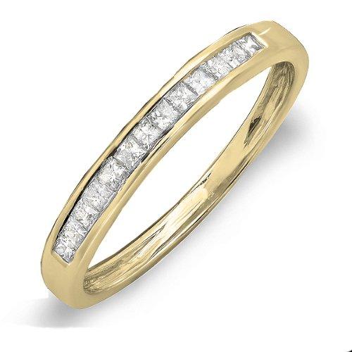 0.33 Ct Princess Diamond - 1
